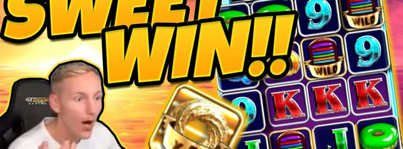 MEGA WIN! Donuts BIG WIN — Huge Win on Casino slot from CasinoDaddy
