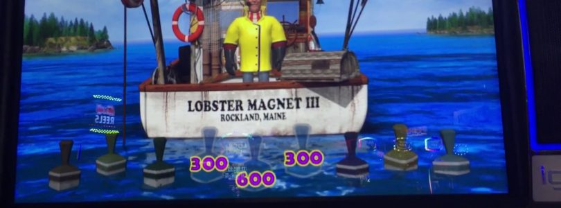 Big win!  Lobstermania 3 buoy bonus free games @ max bet