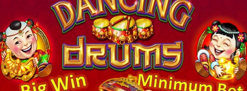 Dancing Drums Big Win on Minimum Bet