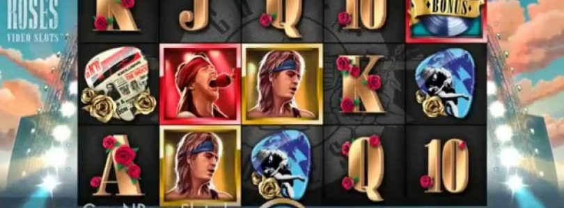 Guns N' Roses Slot — Solo Multiplier — Big Win