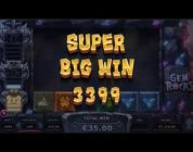 SUPER MEGA BIG WIN On Gem Rocks Slot Machine from Yggdrasil Gaming