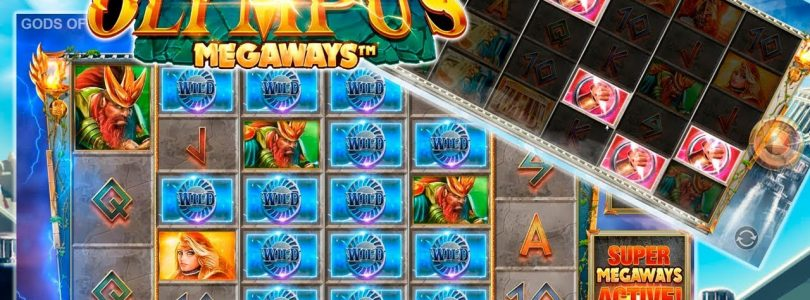 BIG WIN ON GODS OF OLYMPUS MEGAWAYS (Wild Storm Free Spins — Blueprint)