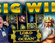 BIG WIN on Lord of the Ocean Slot — £20 Bet!