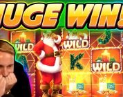 Ante gets a HUGE WIN!!!! Secrets of Christmas BIG WIN — Slot from Netent played by Casinodaddy
