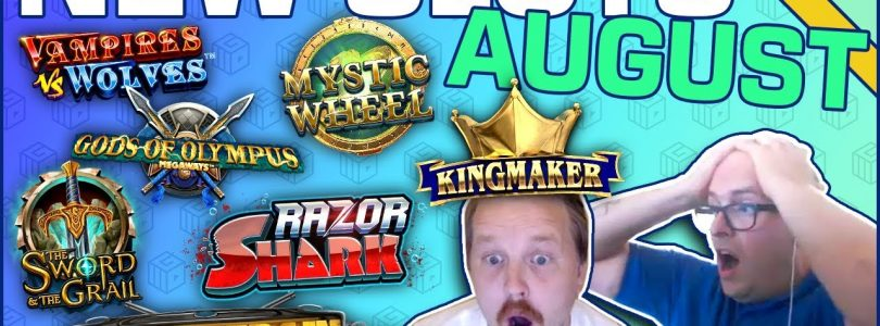 Best New Slots of August 2019