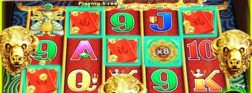 LAND IT! SPIN IT GRAND SLOT MACHINE  | BIG WIN | BONUS | 5 DRAGONS ➡️ Dejavu Slots