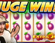 HUGE WIN!!! Extra Juicy BIG WIN — Casino Slot from Casinodaddy stream