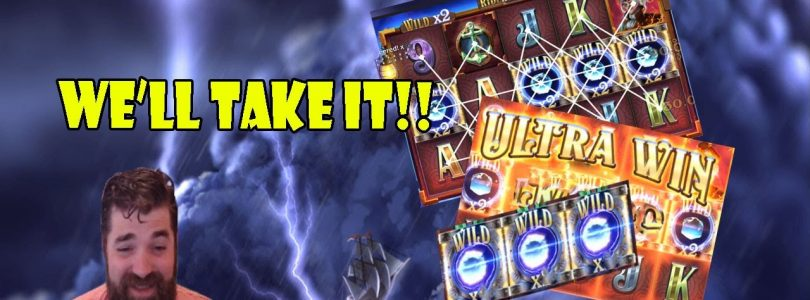Riders of the storm, new Thunderkick slot big win!