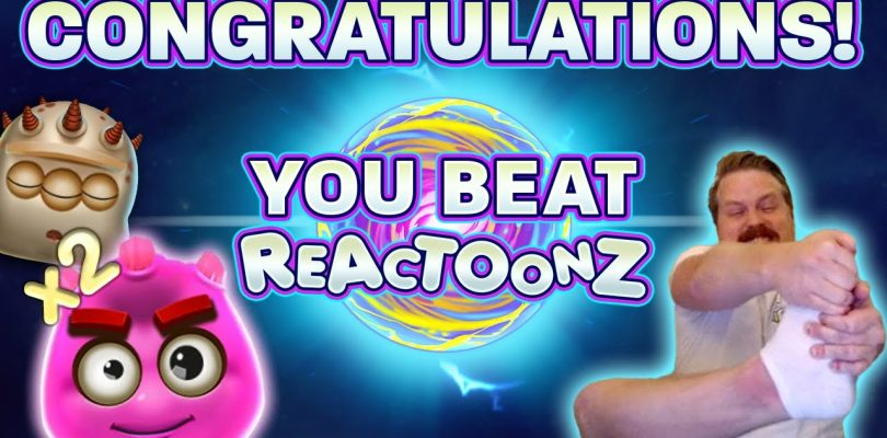 SUPER MEGA BIG WIN IN REACTOONZ (FINALLY!!!)