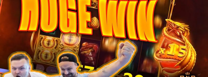 Huge Win on Dragon's Fire Megaways Slot — Casino Stream Big Wins
