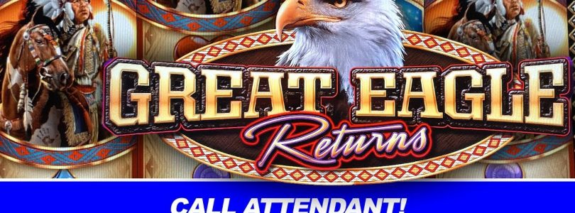 GREAT EAGLE RETURNS BIG WINS ★ HIGH LIMIT SLOT MACHINE ➜ JACKPOT BONUS WINS!