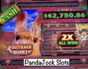 I didn't even realize how big I hit❗️Huge win on Mighty Cash Outback Bucks❗️