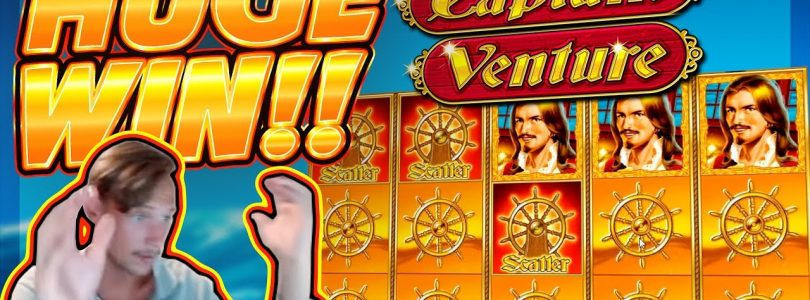 HUGE WIN!!! Captain Venture BIG WIN!! Casino Games from CasinoDaddy Live Stream