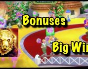 Bonuses and some BIG wins on Munchkinland, Wizard of Oz, Buffalo Gold