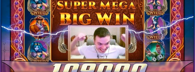 Х1090 — MEGA BIG WIN — SLOTS GAME.