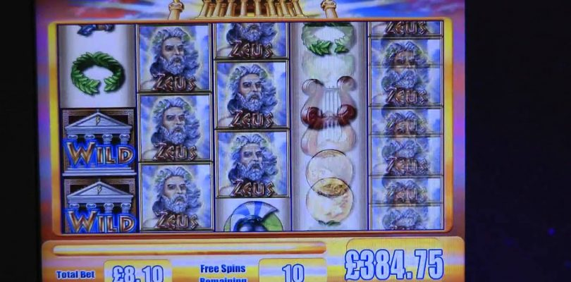 £602.64 BIG WIN (74 X STAKE) ON ZEUS™ SLOT GAME AT JACKPOT PARTY®