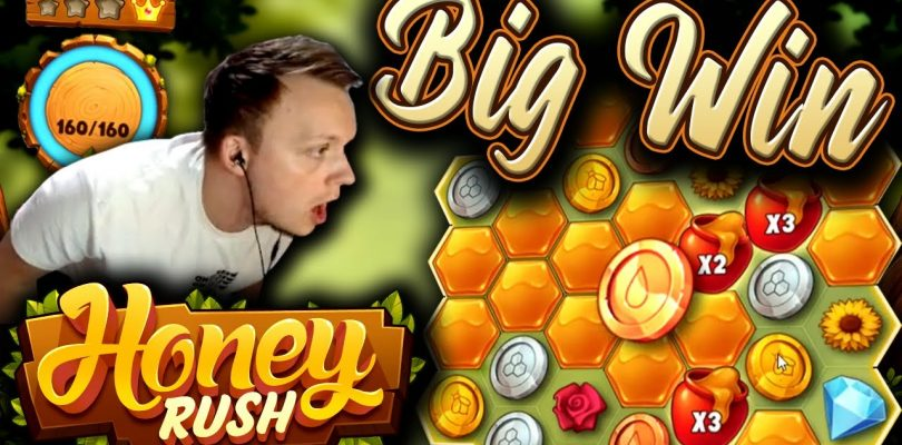 MEGA BIG WIN on Honey Rush — New Slot!!