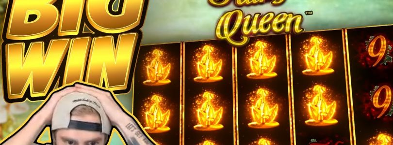 BIG WIN!!! Fairy Queen BIG WIN!! Casino Slot from CasinoDaddy Live Stream