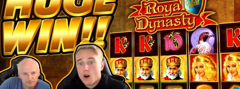 HUGE WIN!!! Royal dynasty BIG WIN — Casino game from CasinoDaddy Live Stream
