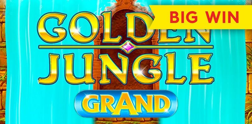 Golden Jungle Grand Slot — BIG WIN, MAX BET!