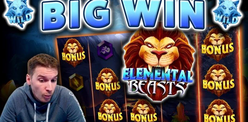 BIG WIN on Elemental Beasts Slot — £6 Bet!
