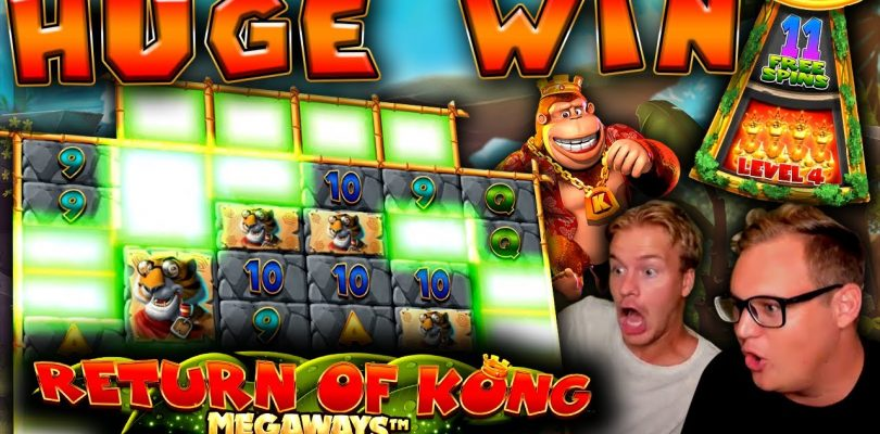 HUGE WIN on Return of Kong Megaways