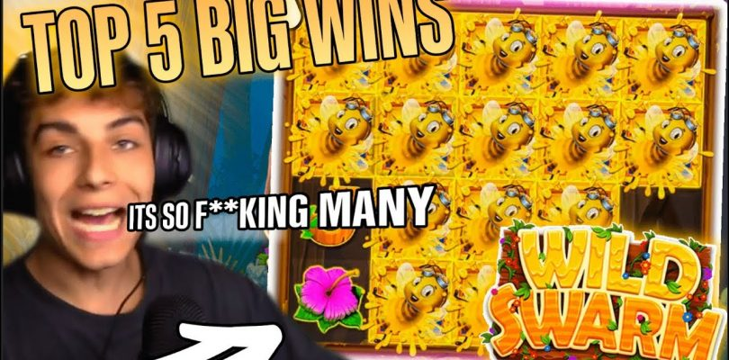 The Wild Swarm top 5 BIG WINS — Record win 36.000 € on slot