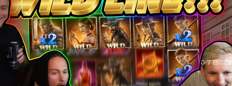 WILD LINE!! Dead Or Alive BIG WIN — HUGE WIN from CasinoDaddy Live Stream