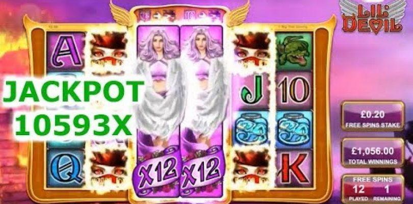 TOP 5 HUGE WIN FROM ONLINE CASINOS ★ 10593X CRAZY EPIC HIT ON LIL DEVIL!!!!