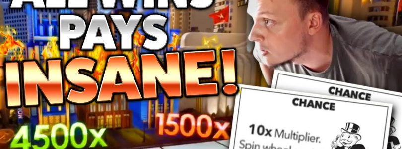 Monopoly Live INSANE Multiplier Rolls — SUPER BIG WIN!!!