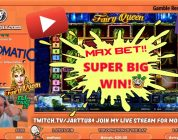 Max Bet!! Super Big Win From Fairy Queen Slot!!