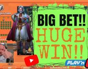 Big Bet!! Huge Win From Rise Of Merlin Slot!!