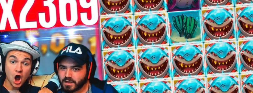 Record win Razor Shark slot on stream — Top 5 BIG WINS  in slot