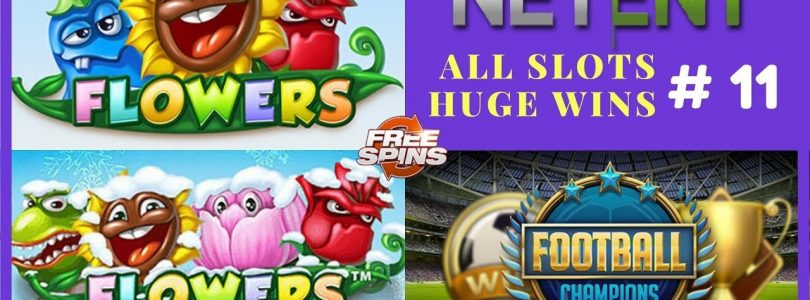 Flowers slot and Flowers Christmas Edition (HUGE WIN), Football: Champions Cup (BIG WIN) Netent #11