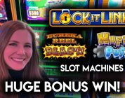 WOW! So Many Mansions! Lock-it Link Slot Machine HUGE WIN!!