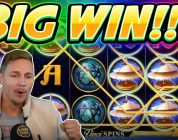 BIG WIN!! Da Vinci Mystery BIG WIN — NEW Slot from RedTiger played on Casinodaddys Live Stream