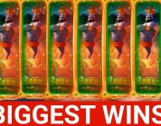 Biggest Streamers Wins #6 Big win & slot machine / Rise of Olympus !