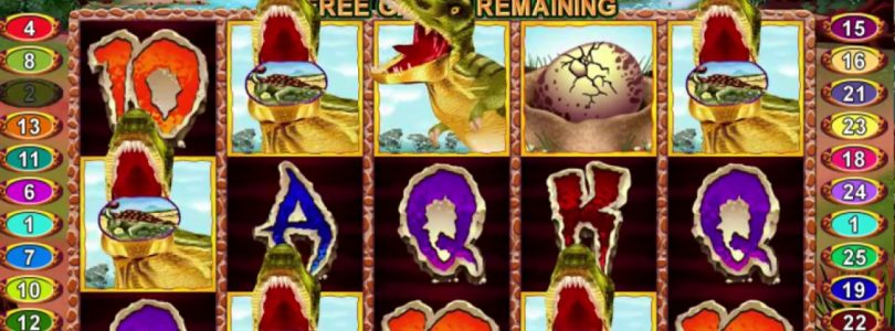 T-Rex Online Casino Slot Big Win!