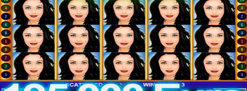 Mega Big WIN in lovely lady amatic casino slot €195.500