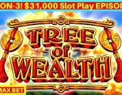 Tree of Wealth Slot Machine $8.80 Max Bet Bonuses & BIG WIN | Season 3 | EPISODE #9