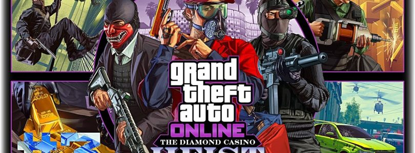 Играю с Братом в GTA Online: The Diamond Casino Heist — Ограбление казино (PS4) Online Стрим 3