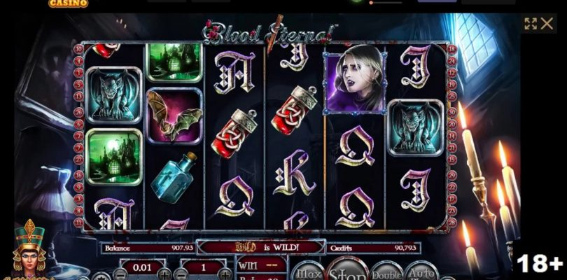 Gambling 13 minutes of Blood Eternal Slot + Bonus Review