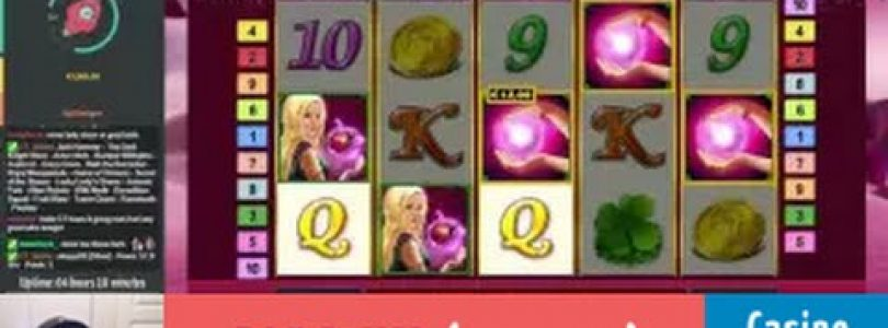 Lucky Lady's Charm — BIG WIN — Bet size: €0.80