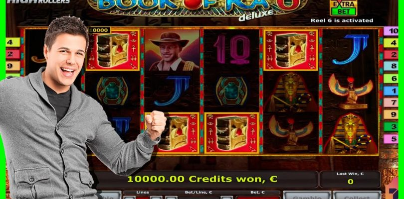 €100,000 RECORD BIG WIN in BOOK OF RA DELUXE SLOT. 3 BONUS GAMES. 30 FREE SPINS! IT IS ABSOLUTE OMG
