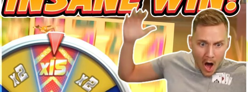 RECORD WIN! Wildhound Derby BIG WIN — HUGE WIN — NEW Slot from Playngo