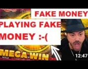 ROSHTEIN streamer casino plays for fake money! Cheating live game for candy wrappers
