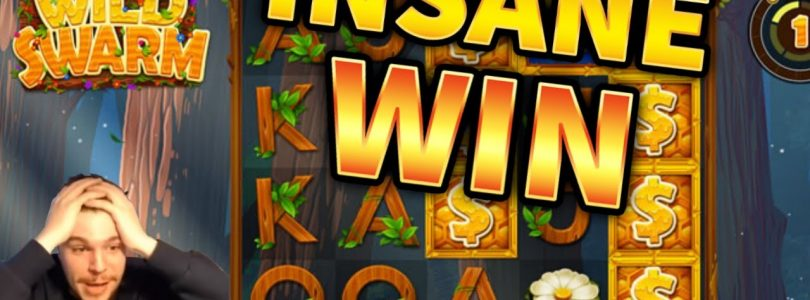 INSANE WIN!!! Wild Swarm BIG WIN with 40€ BET — CRAZY WIN on Casino Game