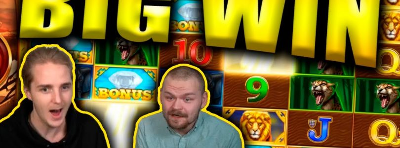 BIG WIN on SAFARI GOLD MEGAWAYS Slot