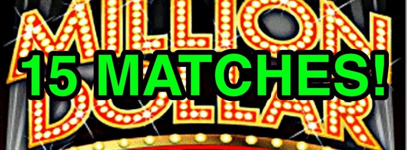 BIG WIN! 15 matches on a $50 lottery ticket!  New chase rd 2