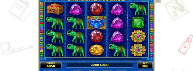 Casino slot  Diamond Monkey WIN 50 eur